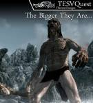 Skyrim - Quest - The Bigger They Are (Квест