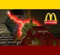 Garrys Mod - Скин McDonalds для Грави-Пушки!