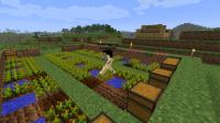 Minecraft 1.3.2 с установленным модом Millenaire 3.1.2 | Minecraft моды