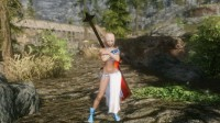 Skyrim - броня Mina для девушек (UNP)