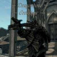 Skyrim - драконий арбалет