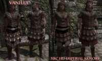 Skyrim - HD текстуры для всей имперской брони