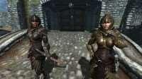 Skyrim - 2 вида новых HD текстур для Эльфийской брони