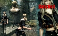 Skyrim - наряд BabyDoll для девушек (CBBE)