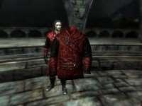 Skyrim - новые текстуры для брони вампира