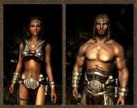Skyrim - серебряная броня (М/Ж)
