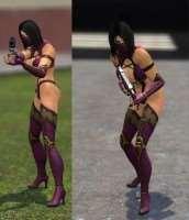 Garrys Mod - Миллена из MK9: Npc и Игровая модель!