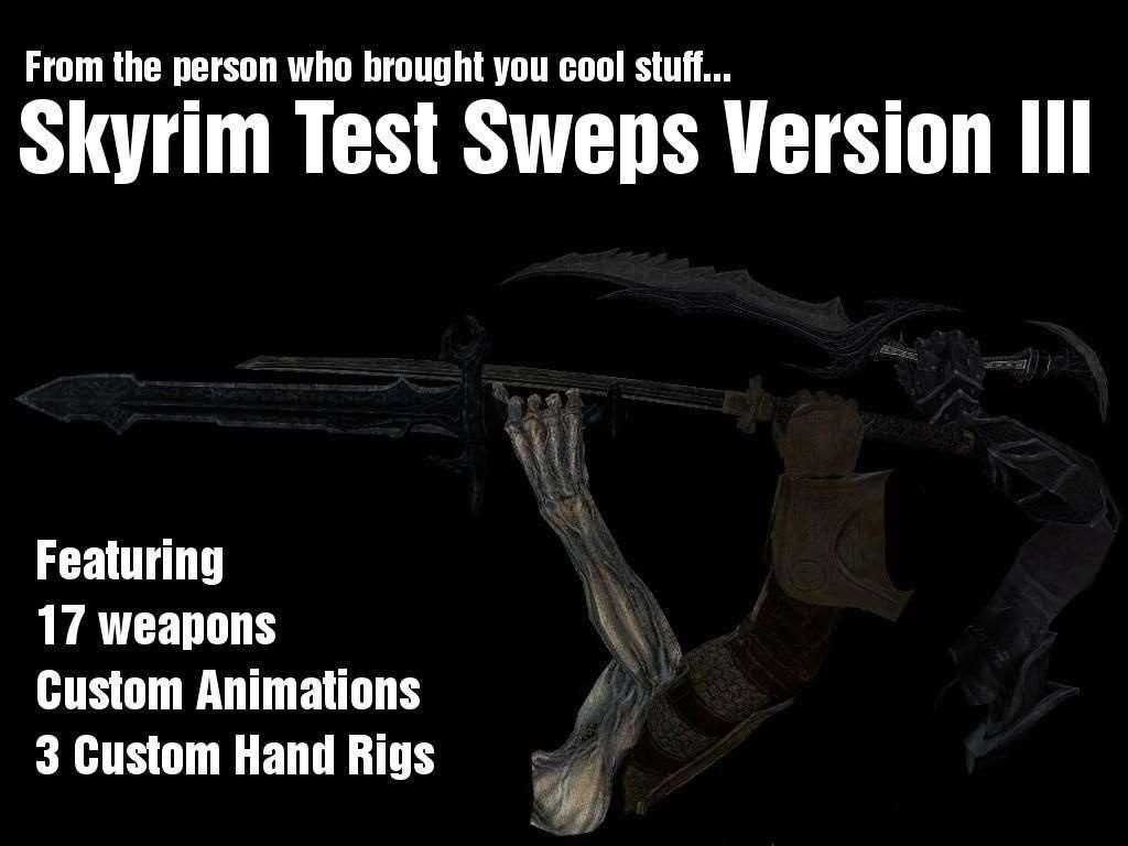 Garrys Mod - Нордское и Даэдрическое оружие (Скайрим)