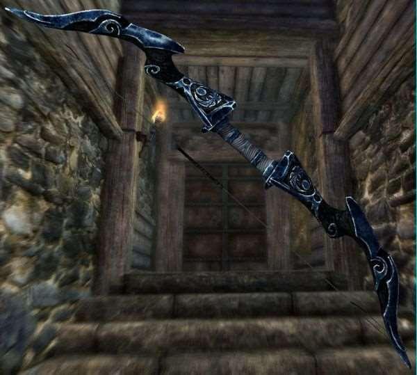 Skyrim -  Ретекстур лука Соловья