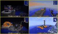 Minecraft 1.3.1 - карта в стиле