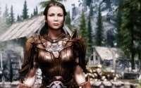 Skyrim - HD ретекстур кожаной брони