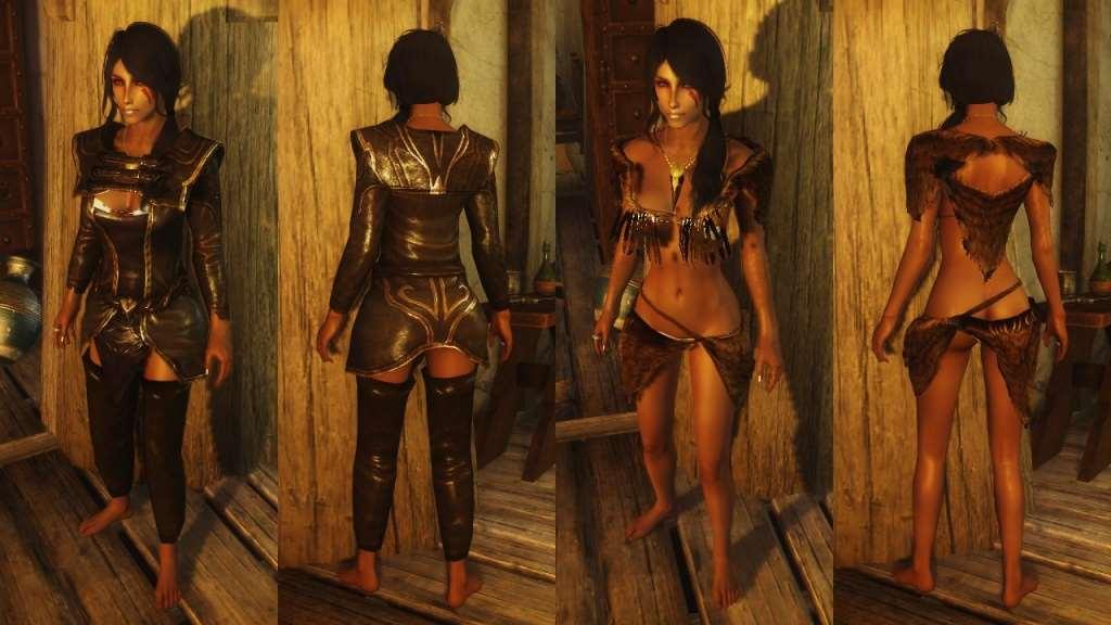 Skyrim — Сборка лучших эротических модов (UNP/CBBE)
