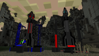Minecraft - ICBM Ракетные установки, межконтинентальные ракеты и глобальная война (SSP / SMP))