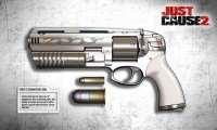 Just Cause 2 - улучшенный пистолет Rico's Signature Gun