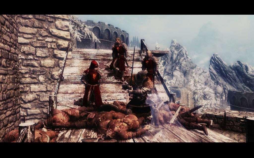 Skyrim, замок гондуин, tes 5, скачать мод на город риверхельм для.