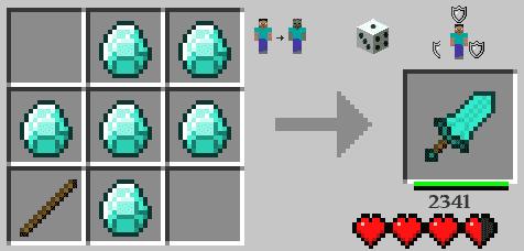 как сделать щит в майнкрафте 1.11 #5