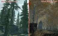 Skyrim Bigger Trees + Riften Bigger Trees