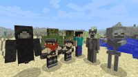 Minecraft - More Player Models для 1.6 - 1.11