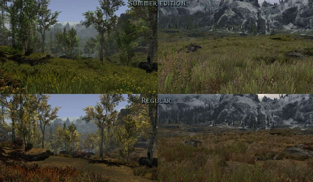 Скачать skyrim flora overhaul