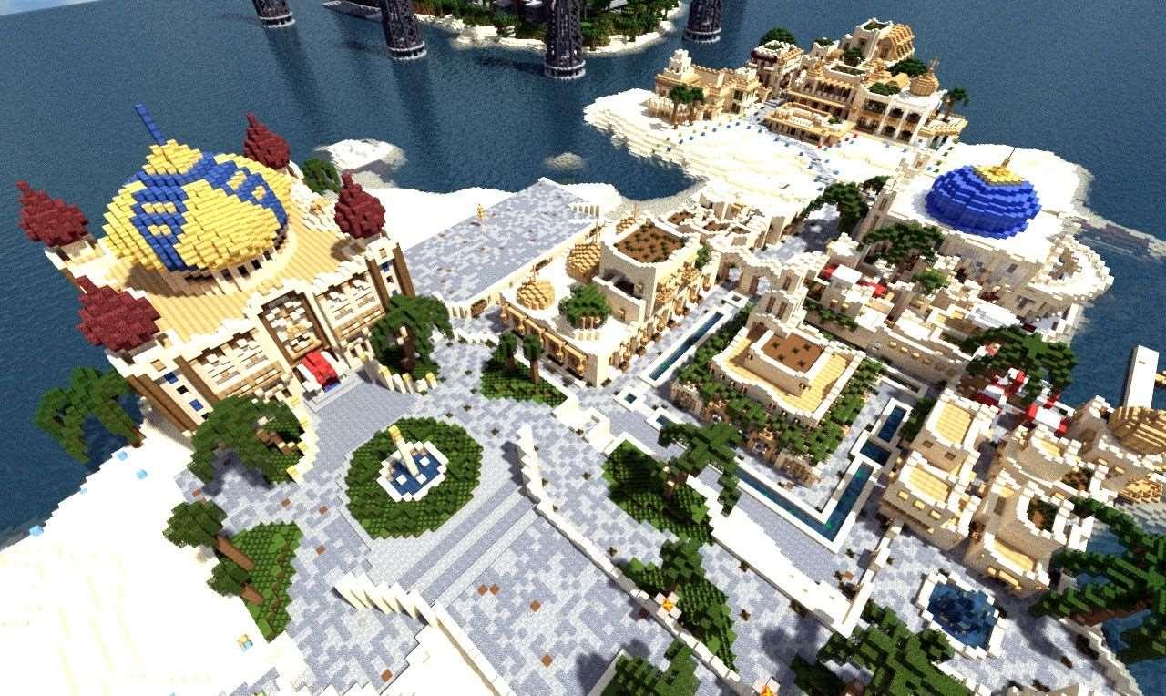 Карты для майнкрафт 1 4 7 мегаполис