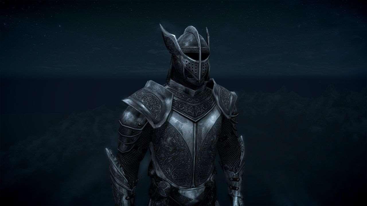Skyrim серебряная сексуальная броня