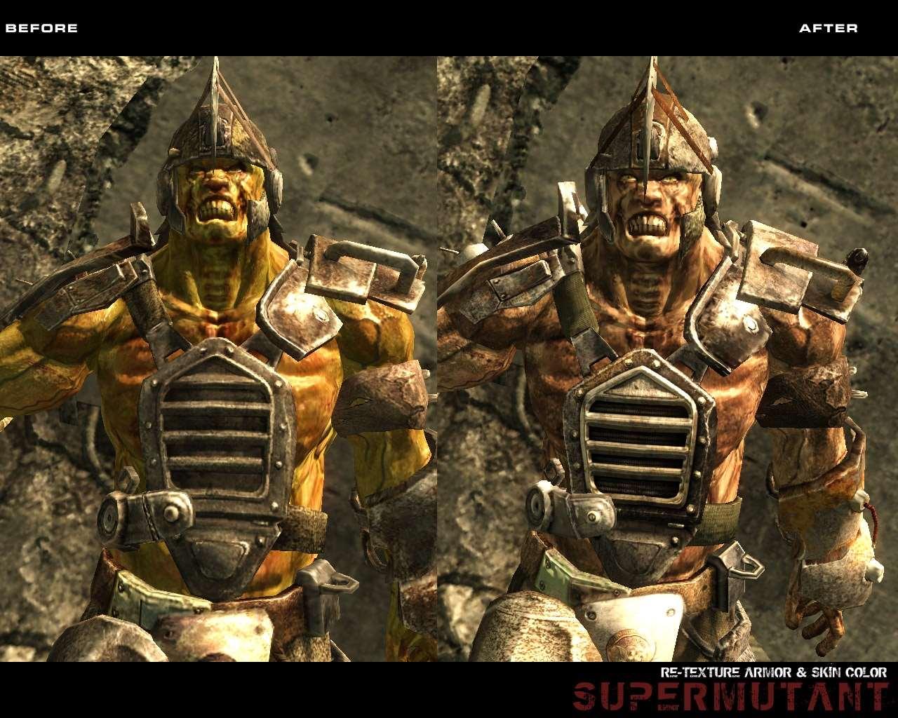 Fallout 3 - HD Супермутанты