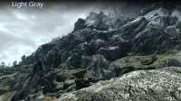Skyrim - ретекстур камней и горной местности