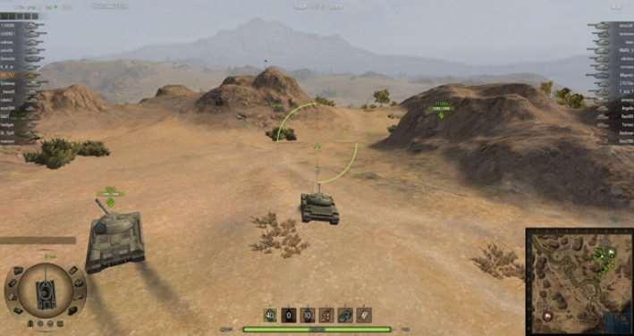 World Of Tanks 0.8.6 — Прицел и Модификация боевого интефейса от zayaz