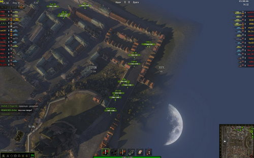 World Of Tanks 0.8.6 и 0.8.5 — Командирская камера   Zoom мод