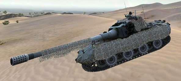World Of Tanks 0.8.6 — HD E100 by kot23rus