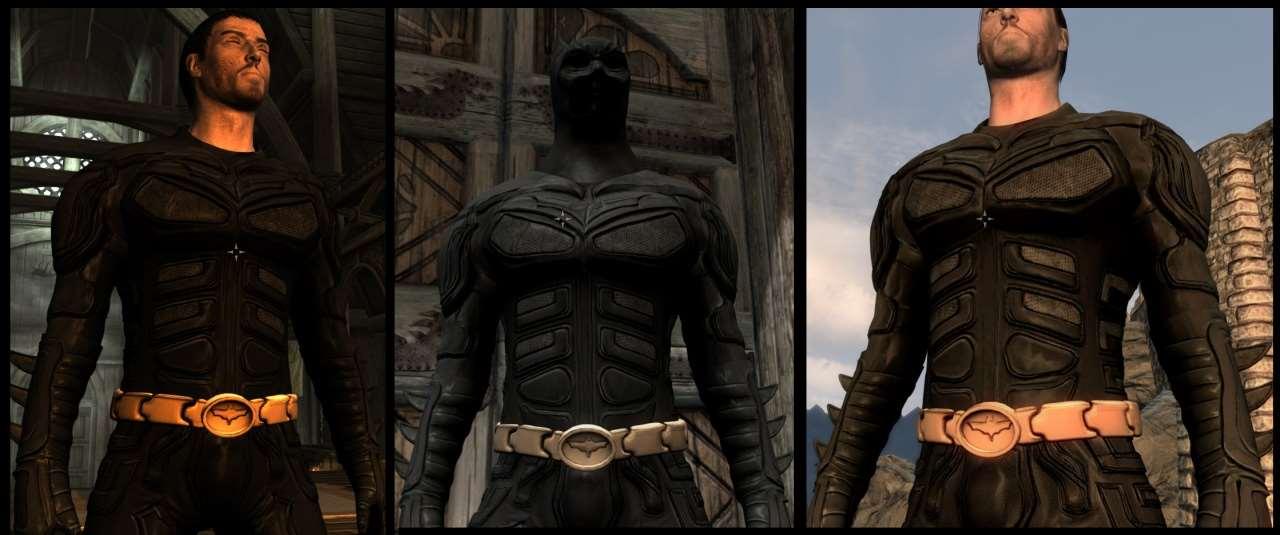Как сделать броню бэтмен