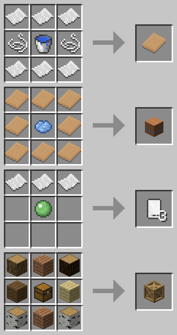 как сделать ящик в майнкрафте #1