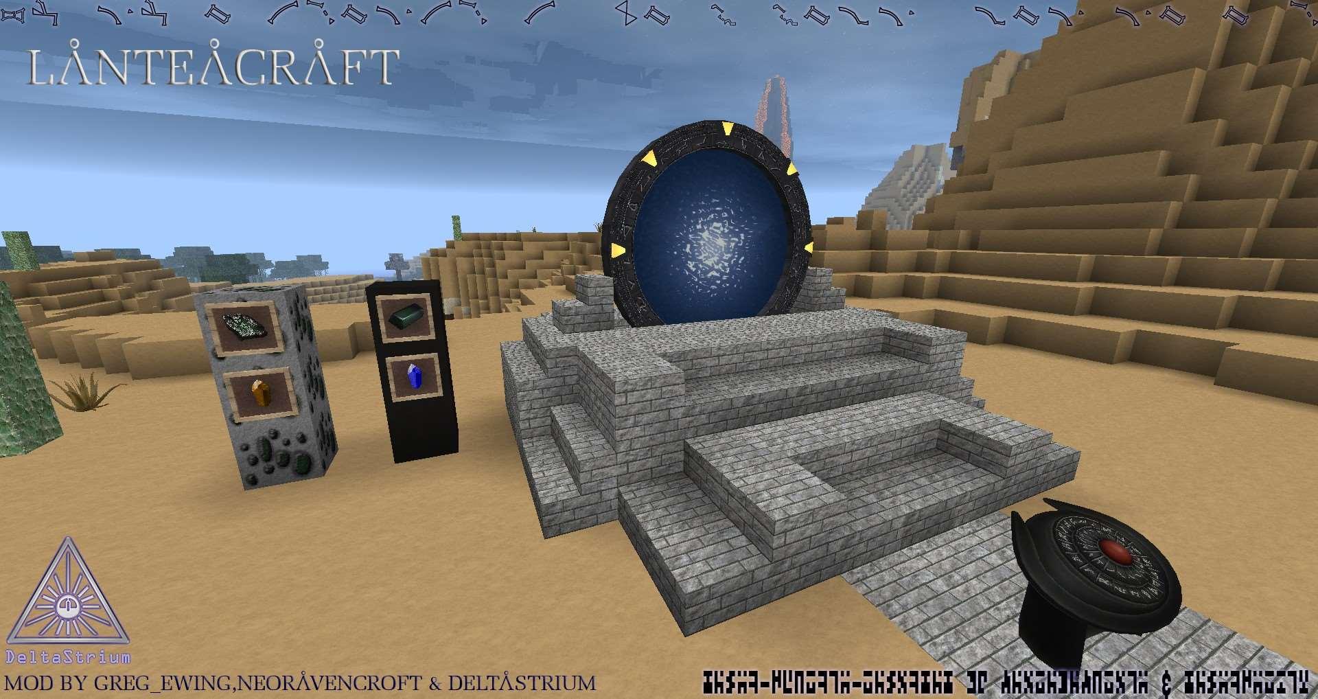 Delta-SGCraft Reloaded Mod Image