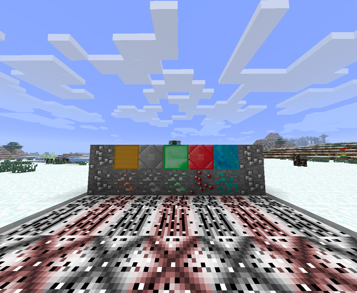 мод на руды в майнкрафт 1.7.10 #4