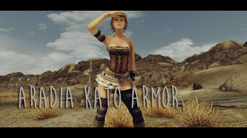 Fallout Nv броня Araido Kato для тел T6m одежда и броня