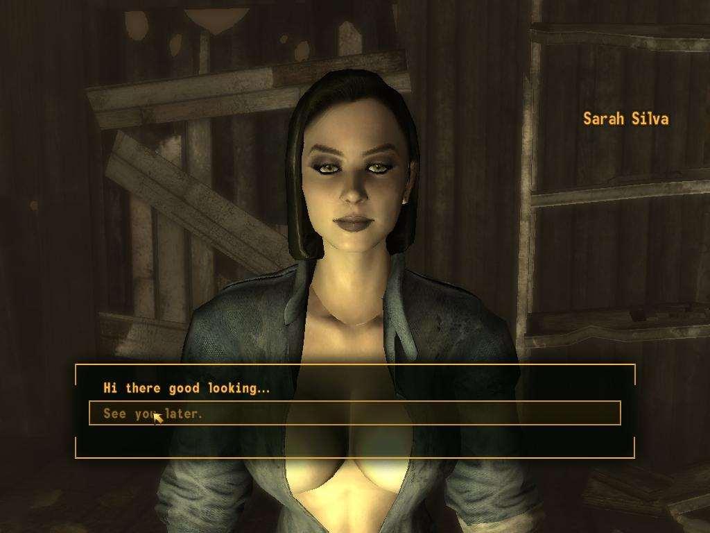 Fallout new vegas sexual innuendo