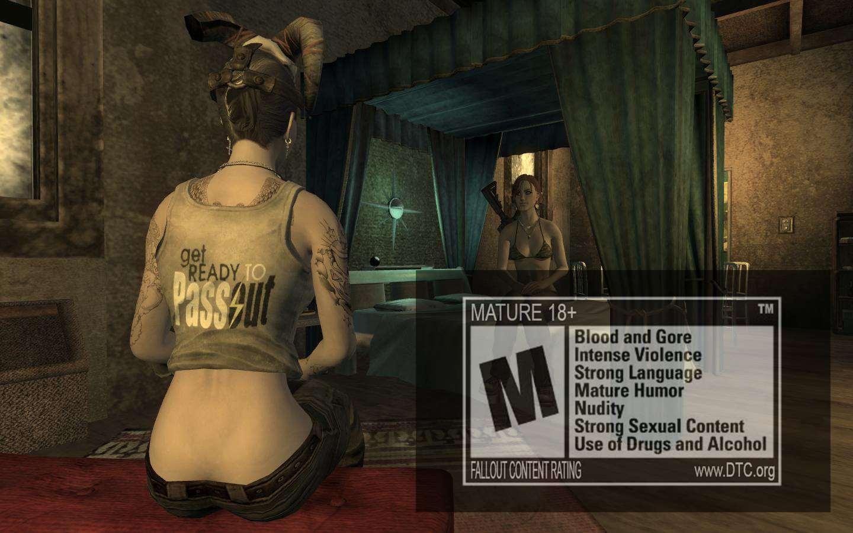 Мод заниматься сексом в игре fallout