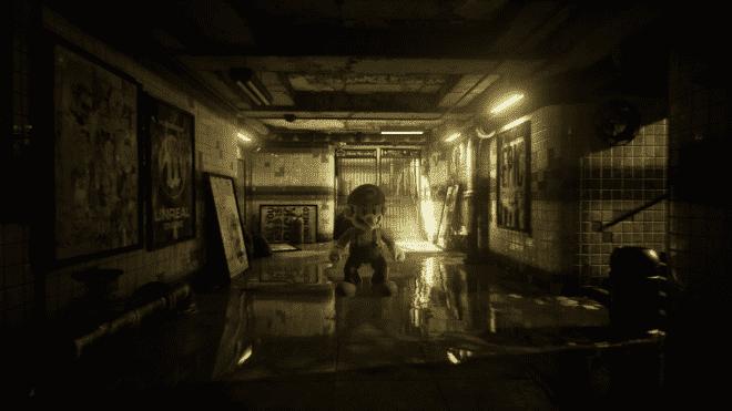 Mario-Is-Unreal