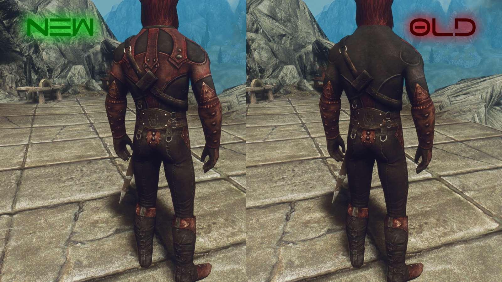 Skyrim моды секси реплейсер темного братства