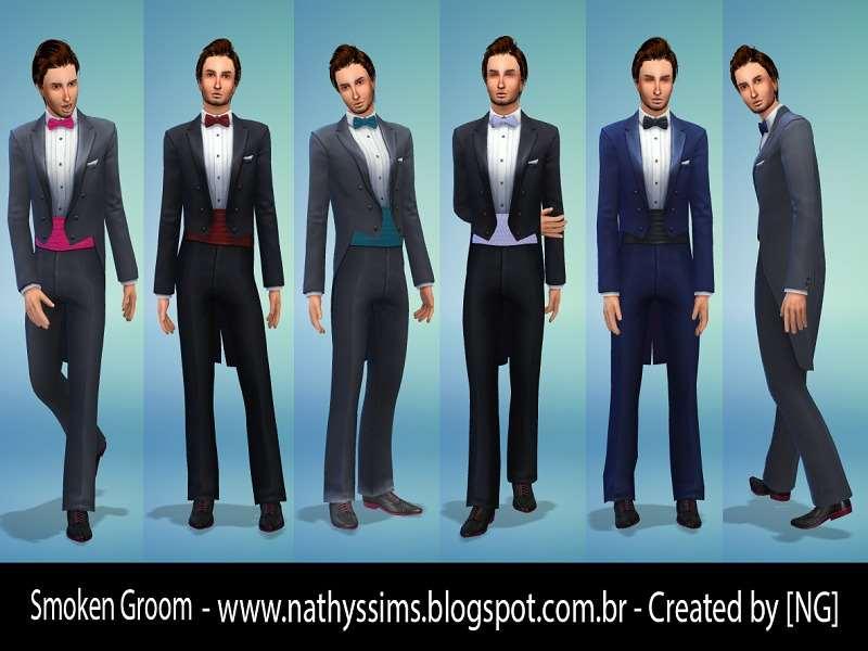 Sims 4 - Мужской костюм (Male Suit) - The Sims 4 - Моды для Skyrim ... 46c6623deda
