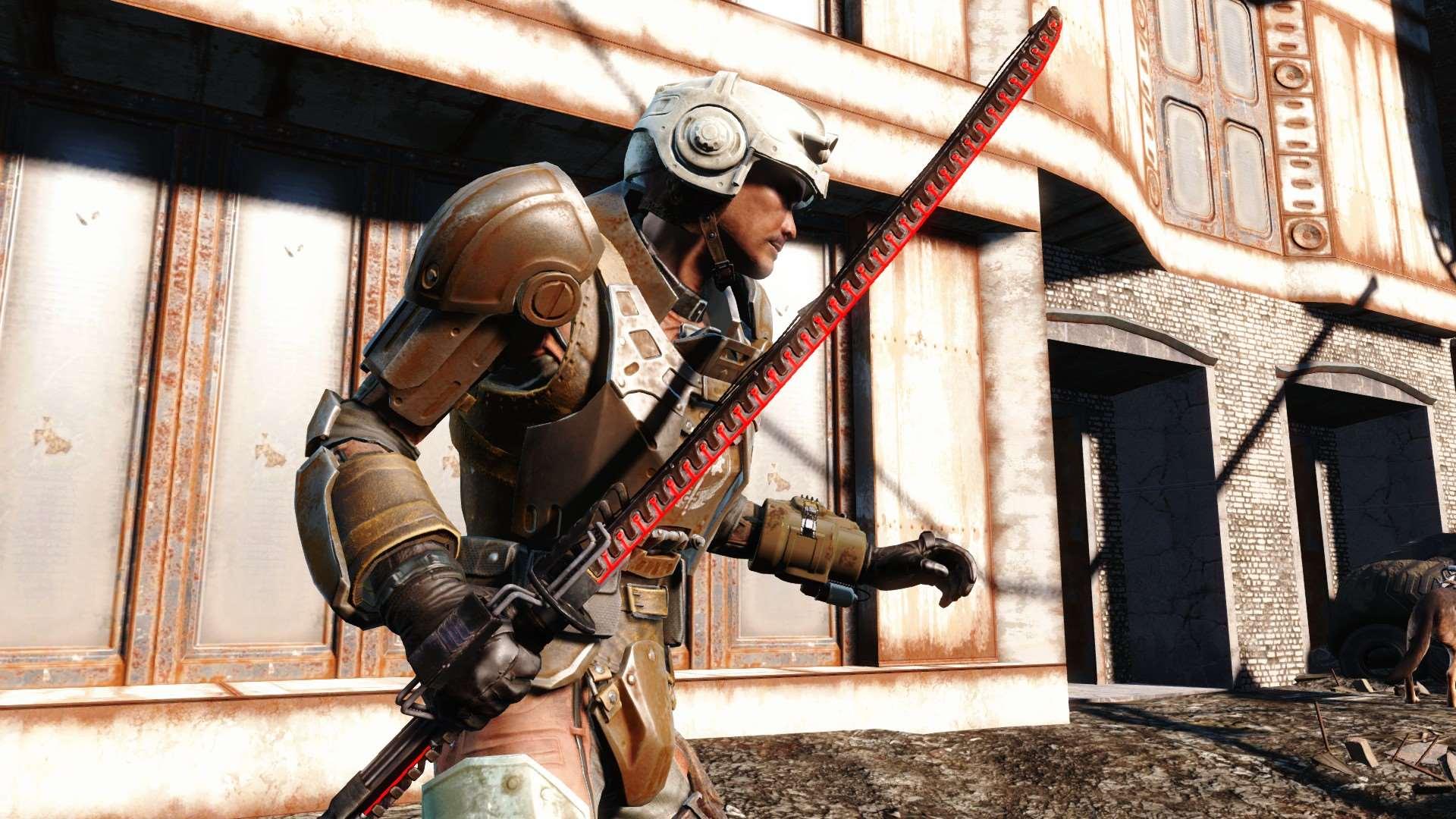 Fallout 4 - Лазерная Катана - Оружие - Fallout 4 - Моды для