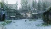 skyrim-uluchshennyj-sneg-dinamicheskaya-pogoda 3