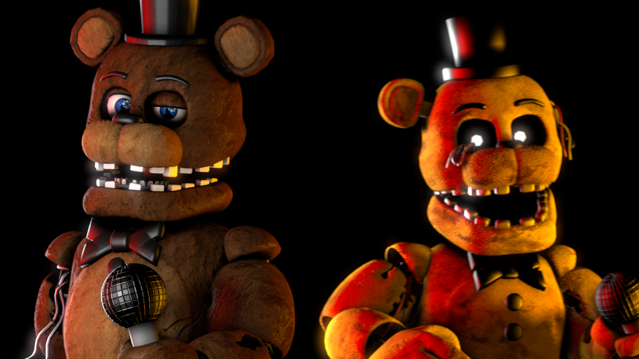 Withered Freddy X Reader - 0425