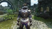 Skyrim - Броня и оружие Пальмерина де Лонфаля из Ведьмак 3