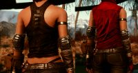 Fallout 4 - Броня Расточителя для девушек - CBBE - Bodyslide