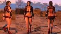 Fallout 4 - Короткий наряд Пайпер