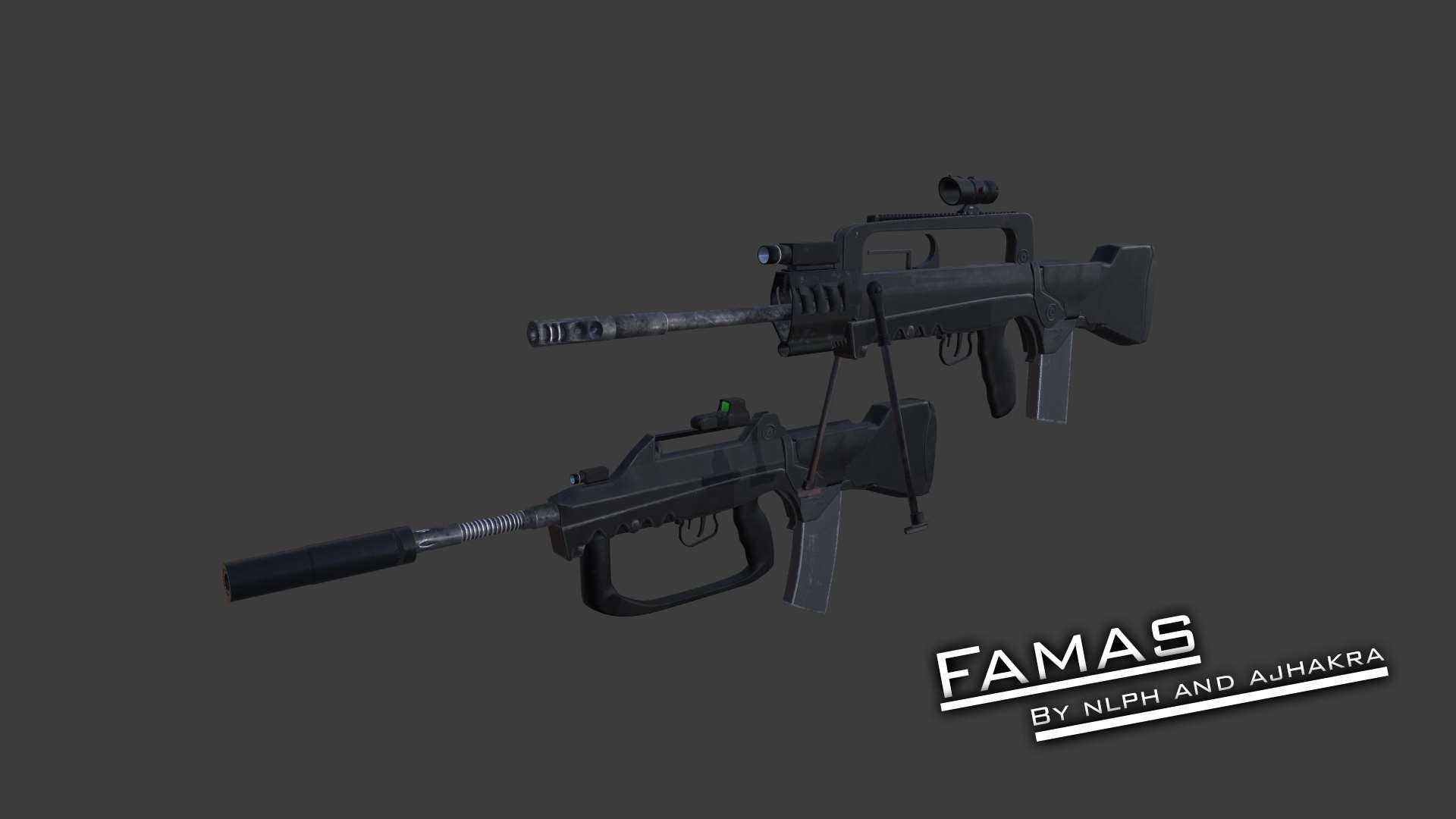 Fallout 4 - Винтовка Famas