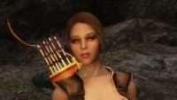 Skyrim - Синдел - лесная эльфийка лучница