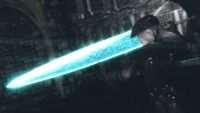 Skyrim - Меч Лунного Света из Dark Souls