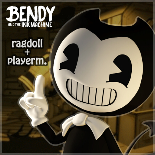 Garrys Mod - Bendy- BATIM (Playermodel/NPC/Ragdoll)